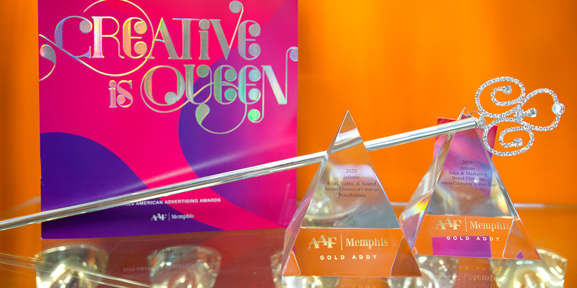 inferno takes home six ADDY Awards